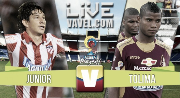 Resultado Junior - Tolima en vuelta semifinales Liga Águila 2015-II (1-0)