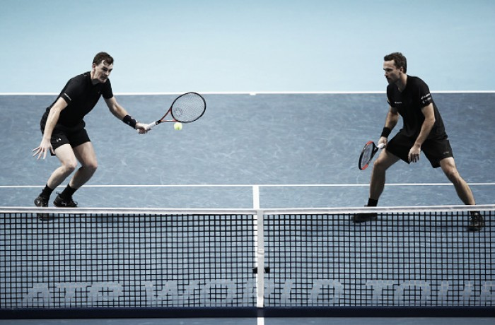 ATP World Tour Finals: Murray/Soares keep hopes alive with comfortable win