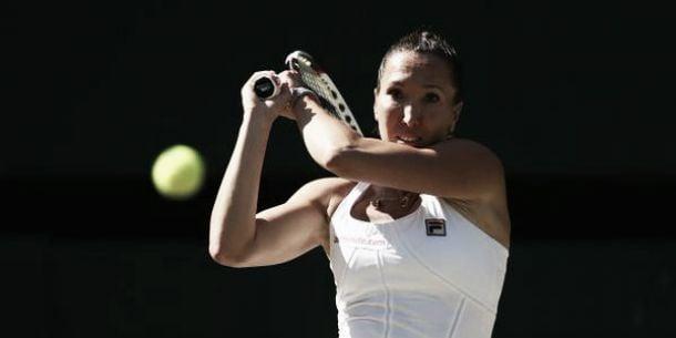 Reigning champion Kvitova's dominance ended by Jankovic