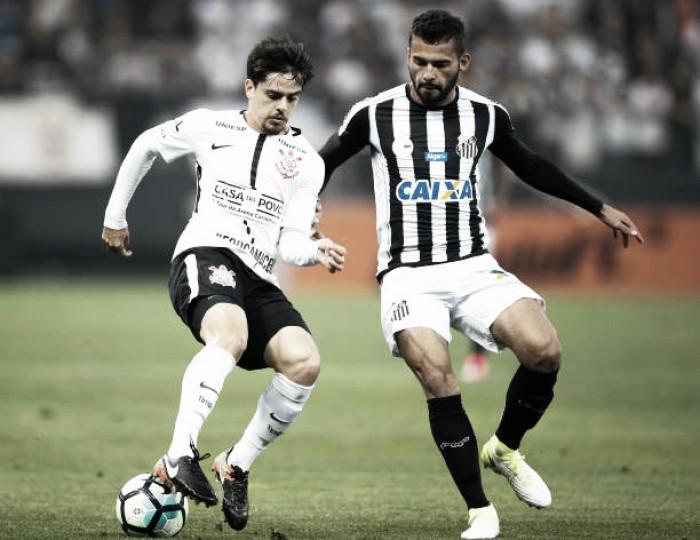 Santos e Corinthians fazem duelo decisivo na Vila Belmiro