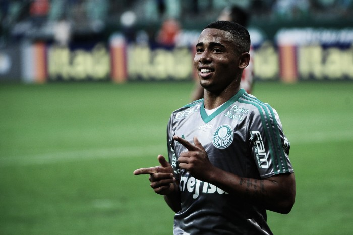 "Inter target Gabriel Jesus says ""wish is to remain at Palmeiras"""