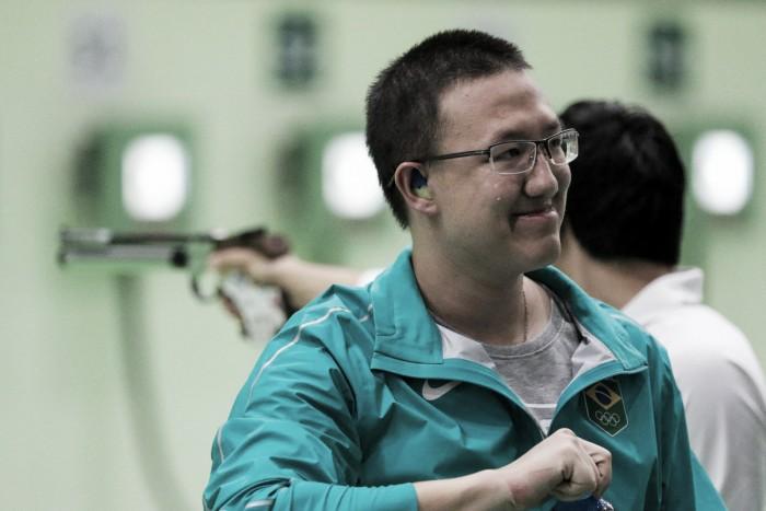 Felipe Wu começa bem nos Jogos Olímpicos e consegue medalha de prata na pistola de ar de 10m