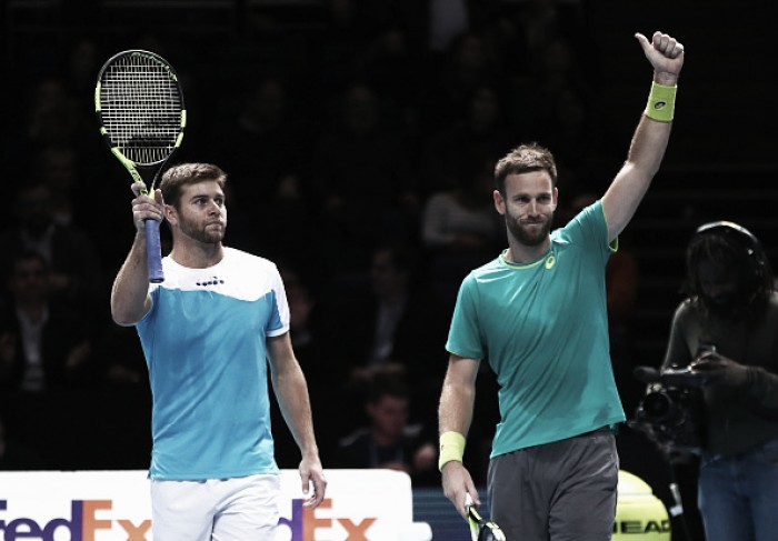 ATP World Tour Finals: Harrison/Venus top group Eltingh/Haarhuis with three straight victories