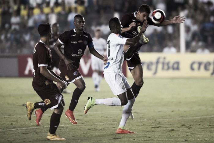 Resultado Santos 1x0 Ferroviária no Campeonato Paulista 2019