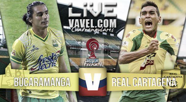 Resultado Bucaramanga 0-0 Real Cartagena en el Torneo Águila 2015
