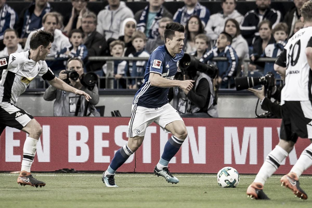Schalke 04 empata com Borussia M'gladbach e fica com pé na Champions League