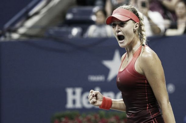 US Open 2015: Mladenovic makes first Grand Slam quarter-final