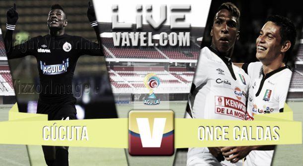 Resultado Cúcuta Deportivo - Once Caldas (1-2)