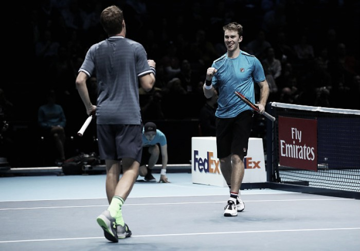 ATP World Tour Finals: Kontinen/Peers to defend title following impressive win