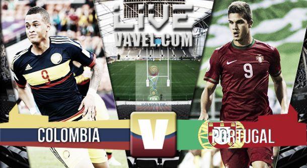 Resultado Colombia - Portugal en el Mundial Sub-20 2015 (1-3)
