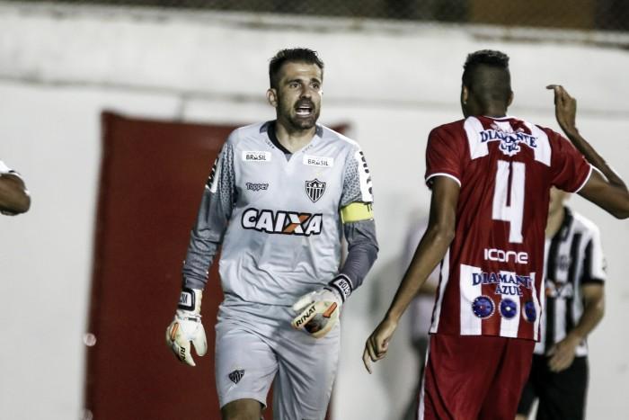Victor revela falta de entrosamento e lamenta derrota do Atlético-MG para o Villa Nova