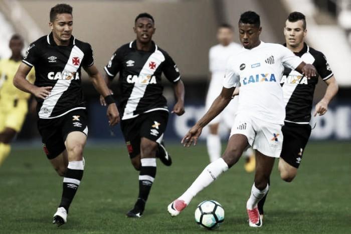 Ainda com esperanças de título, Santos almeja vitória contra Vasco da Gama