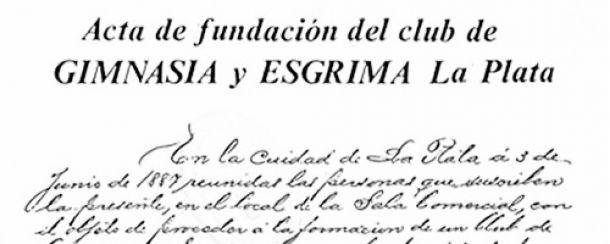 128 años Gimnasia: su fundación