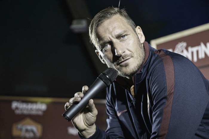 Totti targets scudetto to finish career on a high