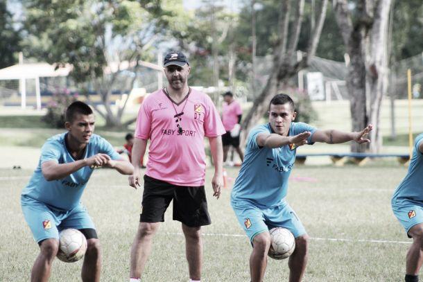 Deportivo Pereira sigue en pretemporada con caras nuevas