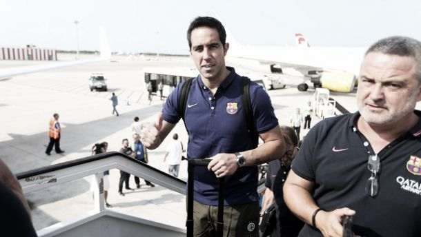 El Barcelona ya está en Inglaterra