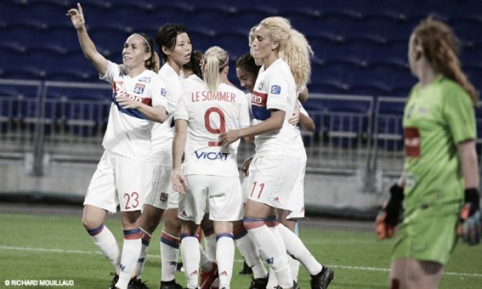 Lyon goleia BIIK Kazygurt e encaminha classificação na Champions Feminina