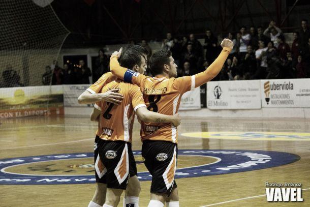 Fotos e imágenes del Aspil-Vidal Ribera Navarra FS 6-1 Palma Futsal