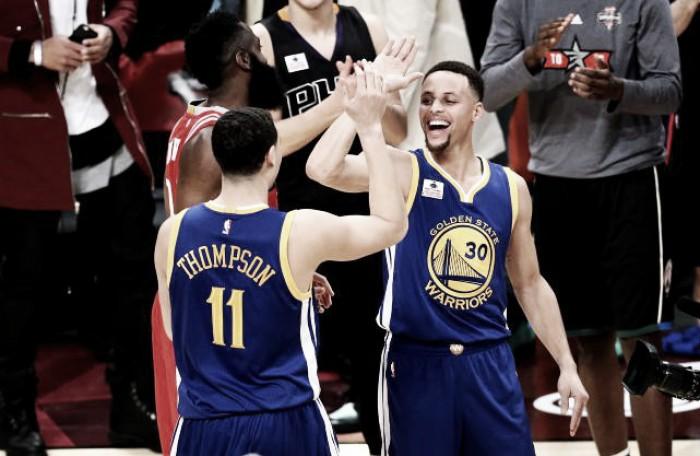 Curry más Thompson igual Catástrofe