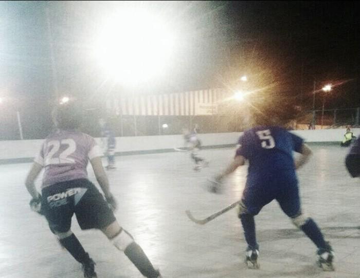 Hockey sobre patines femenino: se le escapó en el final