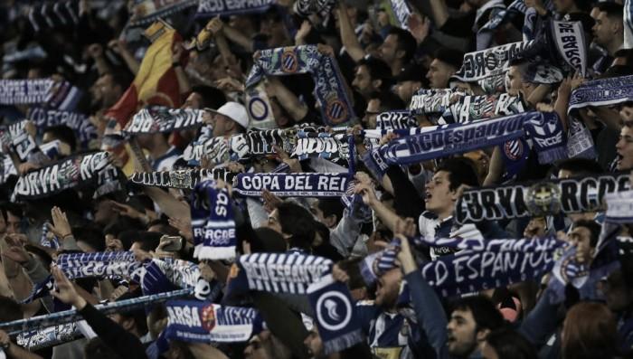 La Liga denuncia al Espanyol por unos cánticos realizados durante el derbi