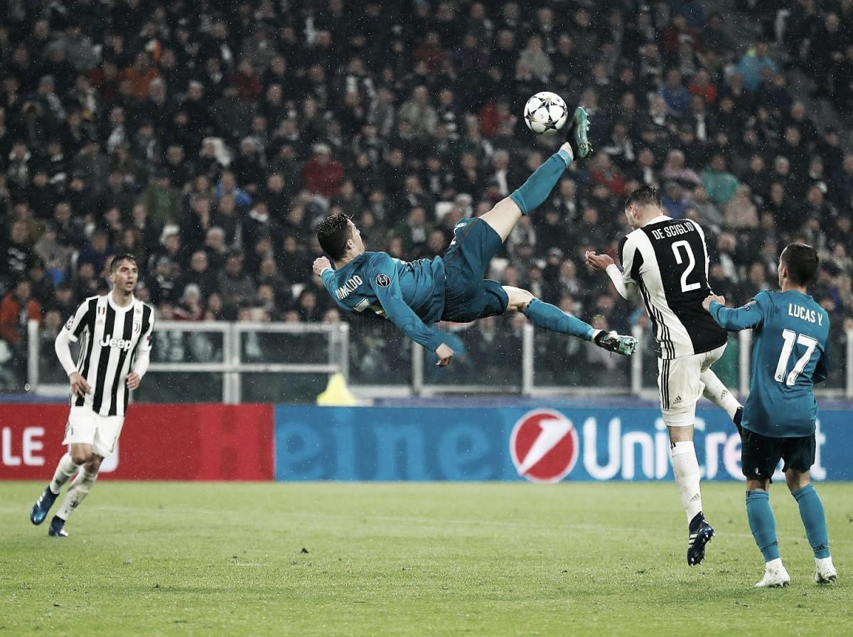 Más goles para Cristiano y su primera chilena