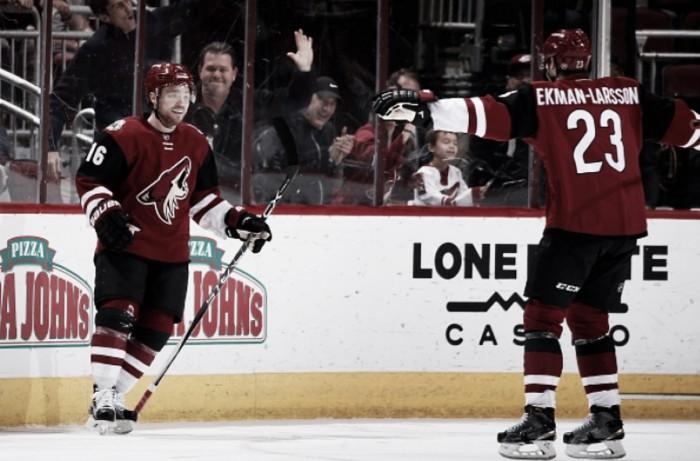 Arizona Coyotes' Max Domi, Oliver Ekman-Larsson snubbed for NHL awards