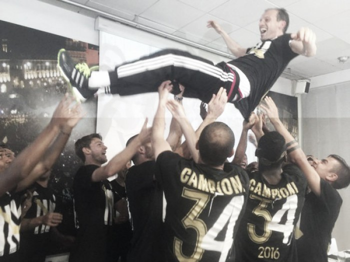 Juventus crowned Champions as Hellas Verona are relegated