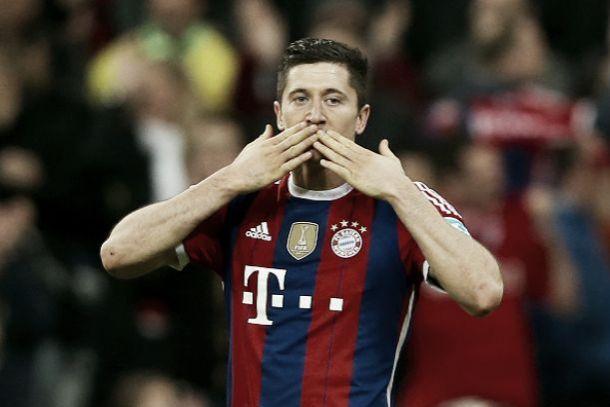 Lewandowski dá um passo na história do futebol alemão