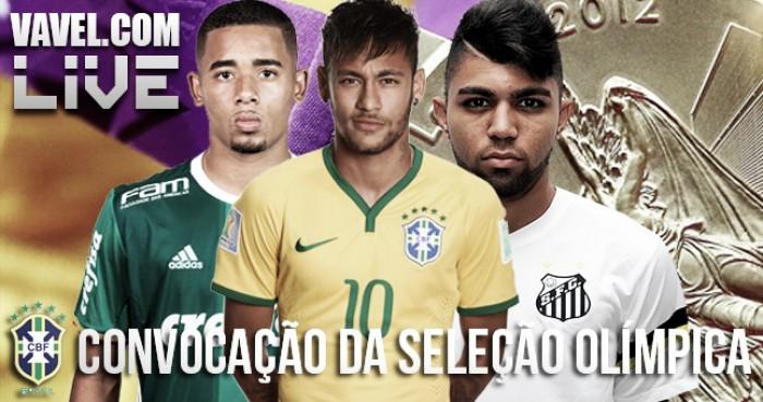 Convocação da seleção brasileira olímpica para o Rio 2016