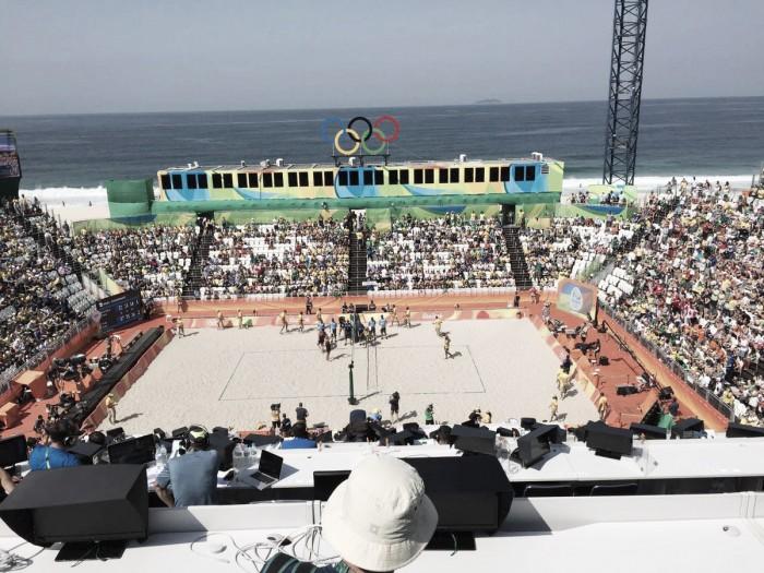 Após críticas, especialistas de vôlei afirmam que areia de Copacabana é ideal