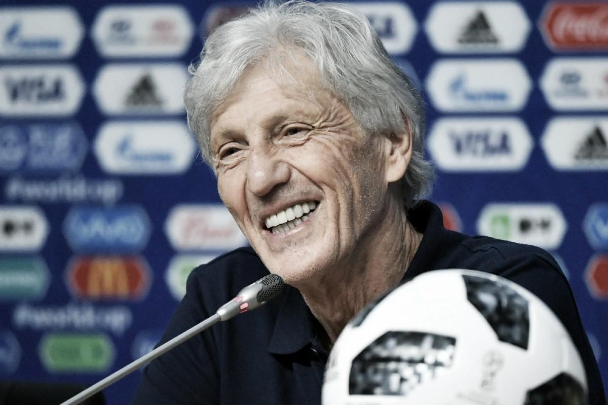 """Pékerman: """"Es un partido decisivo y el triunfo es el que nos asegurará la clasificación"""""""