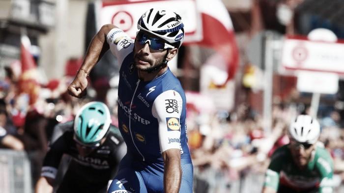 Volta a Itália: Gaviria ganha antes do descanso