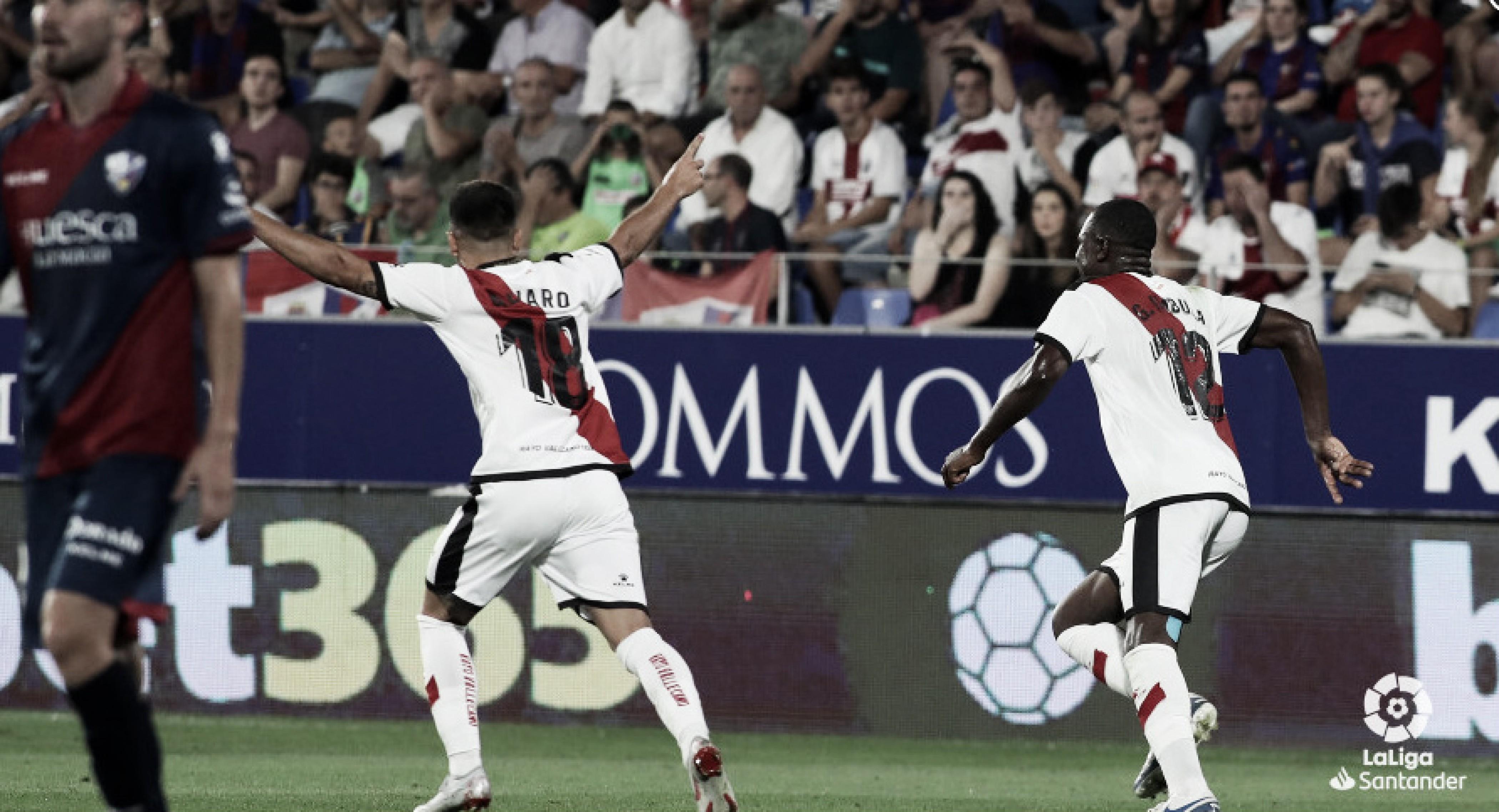 El Rayo Vallecano consigue su primera victoria