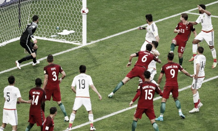 Confederations Cup: Mexico snatch late draw against Portugal