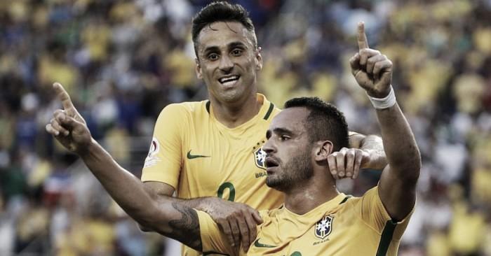 Brasil passeia, faz 7 a 1 no Haiti e precisa de apenas um empate para se classificar na Copa América