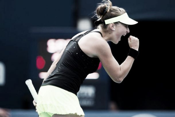 WTA Rogers Cup: Bencic crowned champion in Toronto