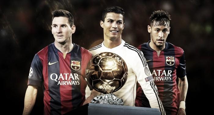 Premiação da Bola de Ouro 2015 com Neymar 26c77f64b08cf