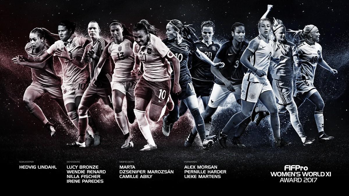 Com presença de Marta, FIFPro anuncia seleção de 2017