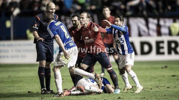 Osasuna - Ponferradina: puntuaciones de Osasuna, jornada 13 de Liga Adelante
