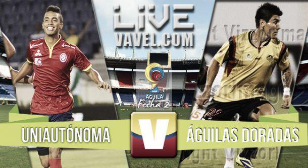 Resultado Uniautónoma 0-0 Águilas Doradas en Liga Águila 2015-II(0-0)