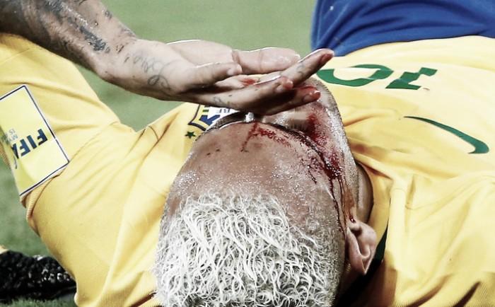 """""""Para ser melhor do mundo, precisa respeitar seus adversários"""", diz boliviano que deu cotovelada em Neymar"""