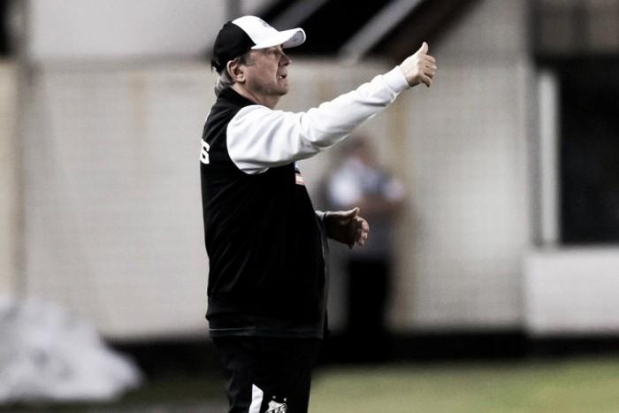 """Levir reprova postura do Santos em empate: """"Ainda não está legal"""""""