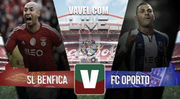 Benfica vs Porto en vivo y directo online en la Liga Portuguesa 2015 (0-0)