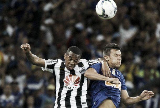 Para Robinho, derrota diante do Cruzeiro não foi um mau resultado
