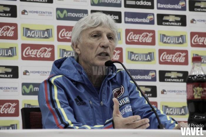 José Pékerman: ¨En la Copa todos los partidos son diferentes¨