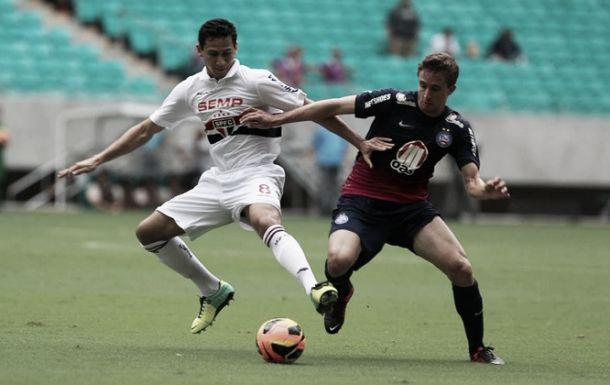 Na volta do Brasileirão, Bahia e São Paulo fazem duelo de opostos na Arena Fonte Nova