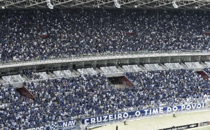 Quase 40 mil torcedores do Cruzeiro garantem ingresso para partida contra Tupi