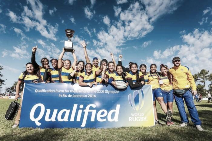 Colombia se prepara para el rugby femenino de Rio 2016