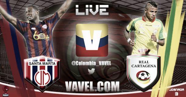 Resultado Unión Magdalena vs Real Cartagena (4-0)